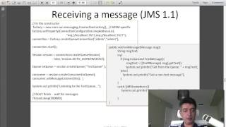 Intro to Java. Unit 16. JNDI and JMS