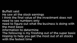 CDI CDI Corp  CDI buy or sell Buffett read basic