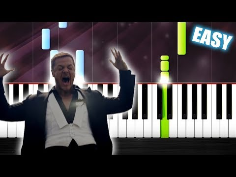 Imagine Dragons - Natural - EASY Piano Tutorial By PlutaX