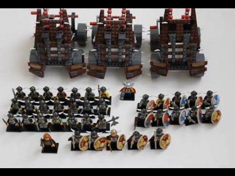 Lego Viking Army Youtube