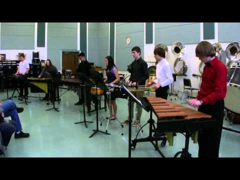 JHHS Concert Band 2 at Elk Grove HS Percussion Fest 2014