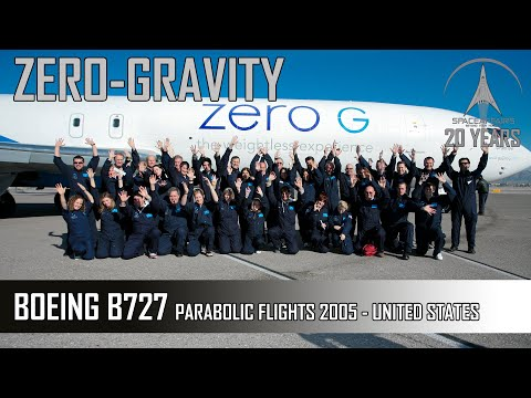 Zero G with Boeing B727-200 USA