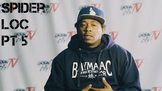 Spider Loc discusses Young Buck incident, 40 Glocc N.Hollywood truth, Wheel of Fortune (Part 5 of 5)