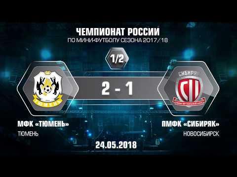 1-2 финала. Тюмень - Сибиряк. 2-1. Второй матч