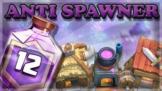 BEST Anti Spawner Rage Challenge Deck    Clash Royale 🍊