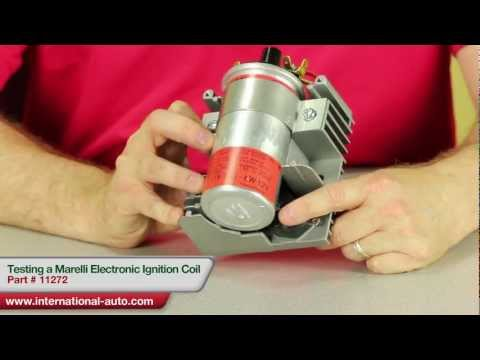 Testing a Marelli Style Electronic Ignition Coil - International Auto Parts