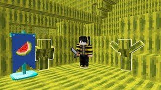 GÖRÜNMEYEN KARPUZ OLDUM! - Minecraft SAKLAMBAÇ