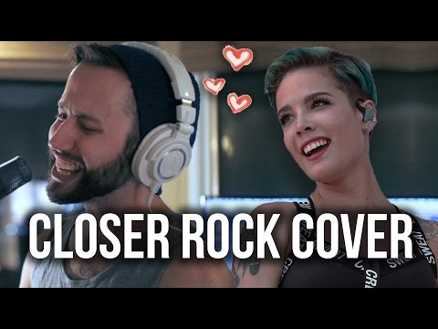 Closer (Halsey / Chainsmokers) ROCK COVER VERSION by Jonathan Young