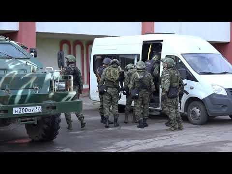 Бойцы ФСБ во время учений освободили заложников в Ивановском областном онкодиспансере (фото, видео)