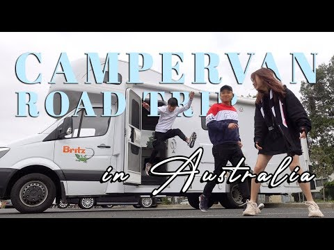 Take me to Australia - MY FIRST CAMPERVAN ROAD TRIP!!!