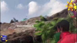 Under Meethotamulla Garbage persons in the armed forces launched Operation