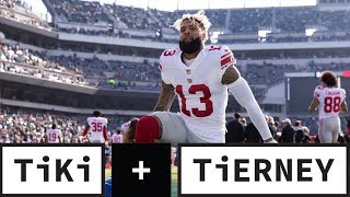 Odell Beckham and Freddie Kitchens Are Not On The Same Page | Tiki + Tierney
