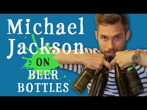 Michael Jackson Billie Jean on Beer Bottles