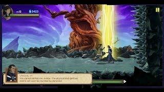 Legend of Korra Dark into Light Game (Korra vs Unalaq)!