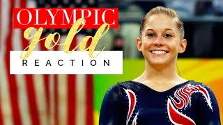 Olympic Gold Medal Reaction | Shawn Johnson
