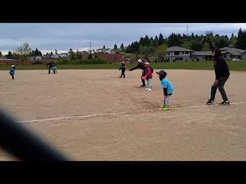 Aliyahs baseball adventure