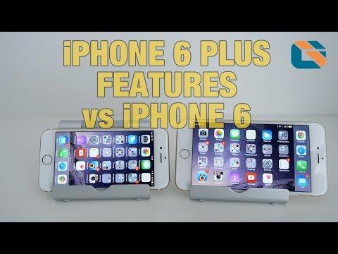 Apple iPhone 6 Plus New UI Features vs iPhone 6 #iPhone6Plus #iPhone6