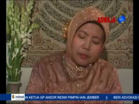 Qori'ah International From Indonesia ; Hj Maria Ulfa Qs Ali Imron video