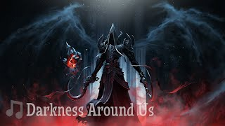 DARKNESS AROUND US - Trap New School Hip Hop Rap Beat Instrumental