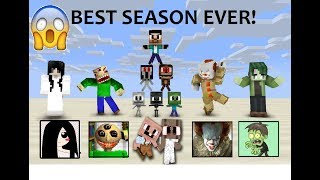 MONSTER SCHOOL :  SEASON 1 (ALL EPISODE) Best Season Ever! - MINECRAFT ANIMATION