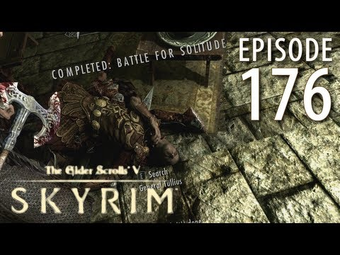 Elder Scrolls V: Skyrim Walkthrough in 1080p, Part 176: Terminating General Tullius! (in 1080p HD)