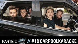 One Direction Carpool Karaoke com James Corden - Parte I (Legendado - PT/BR)
