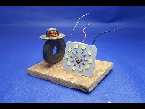 Free energy LED magnets light bulbs work 100% thumbnail