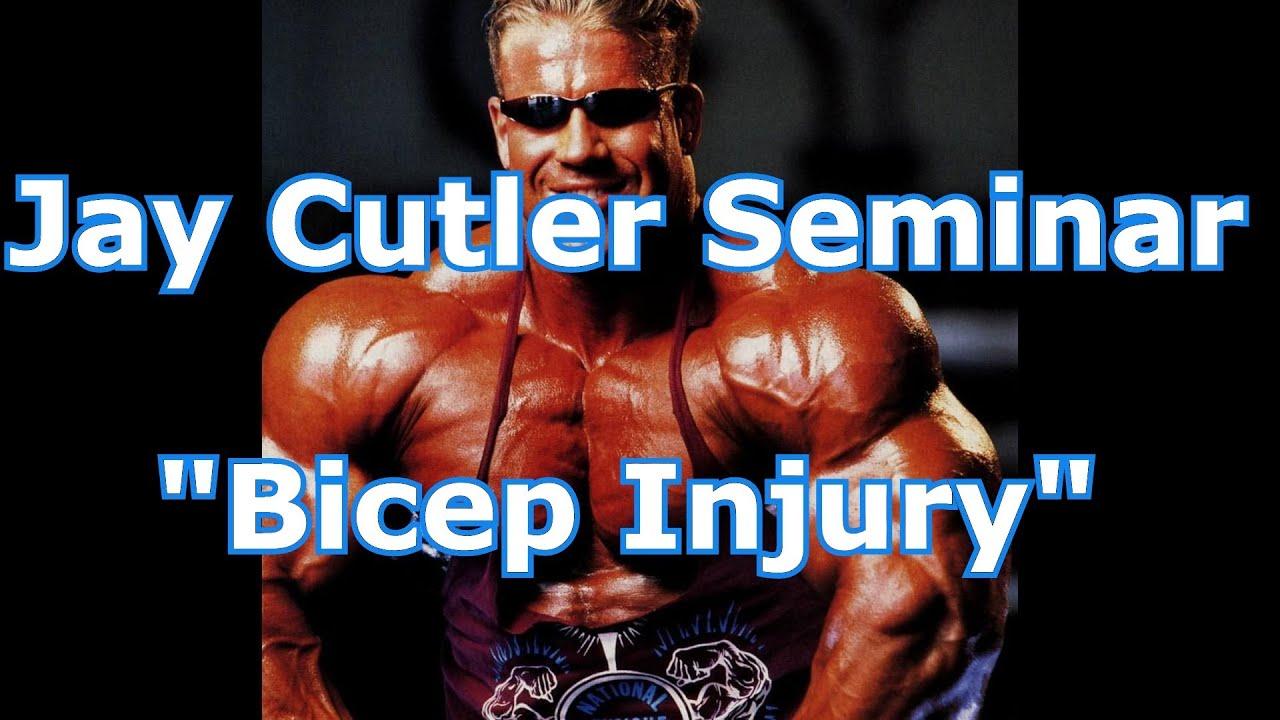 Jay Cutler Arms Jay Cutler Bicep Injury
