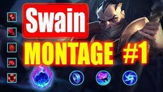 Swain Montage #1    Best Swain Plays S8    League of Legends