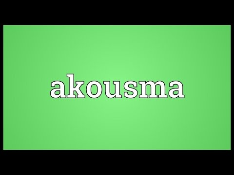 Header of akousma
