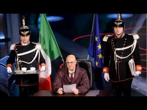 Crozza Nel Paese delle Meravigle – Commento Puntata : Canzone su Mario Monti