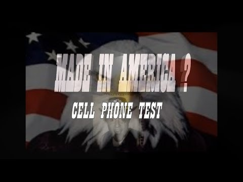 """THE KEN COLT SHOW"" Episode 1 : Made In America ? Cell Phone Test"