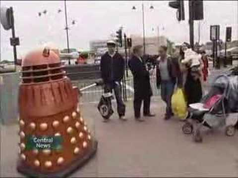 My Dalek on central news