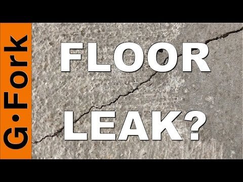 how to repair cracks and leaks in basement walls and floors youtube