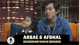 Arbae Amp Afdhal Selebgram Kakak Beradik  Hitam Putih 11 01 18 2 4