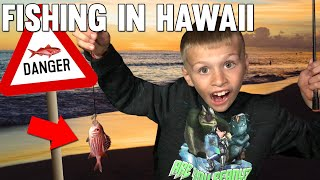 First Time Fishing - Caught Poisonous Red Fish & EEL! || Mommy Monday