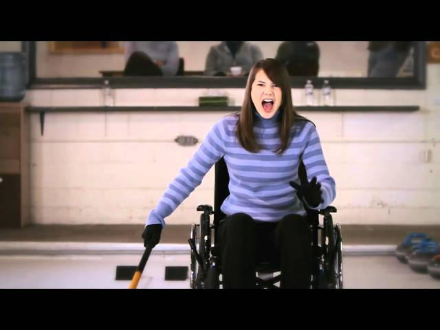 Curling Television Commercial - Mary 'Bullseye Dobbin' - Team Blue