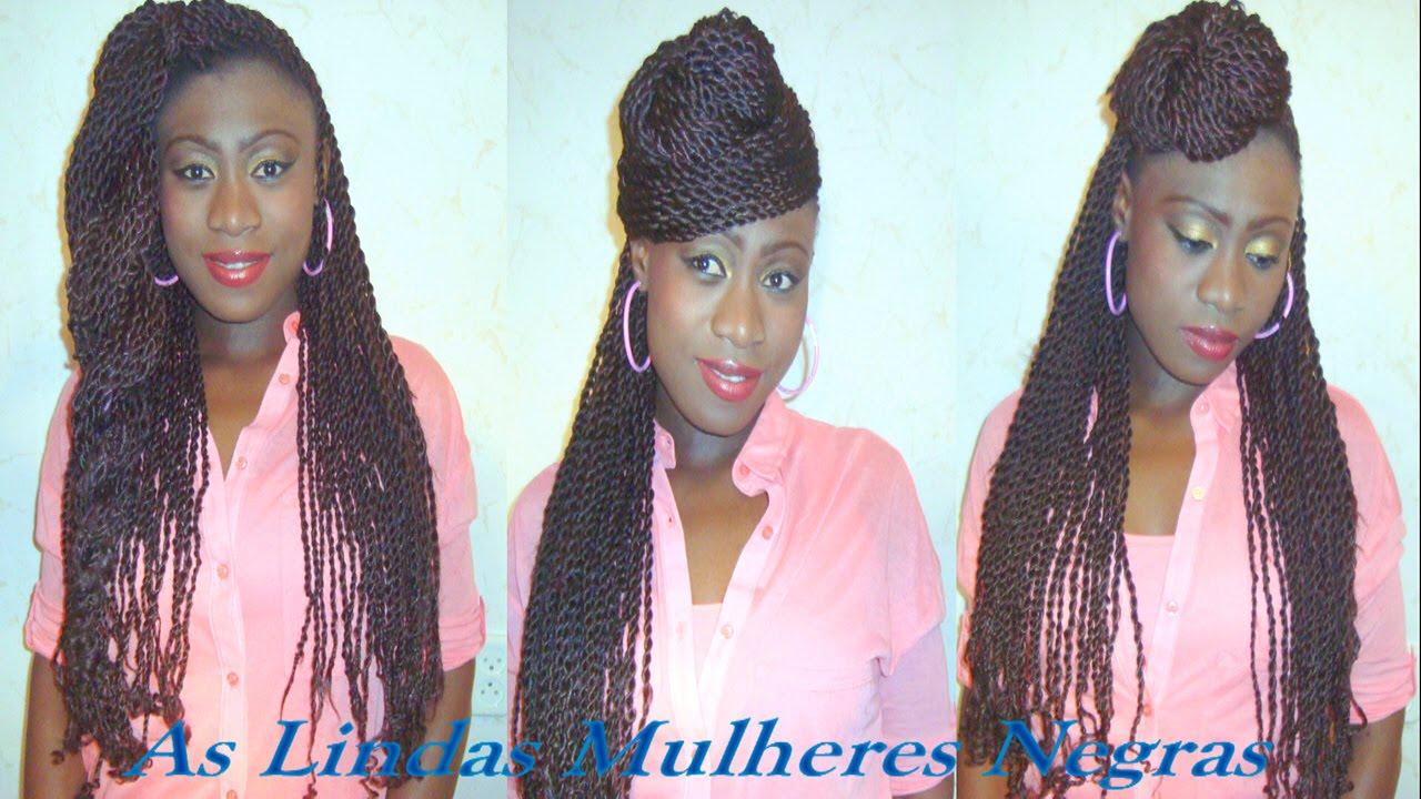 3 Penteados Afro De Festas De Fim De Ano Muito F 225 Ceis E