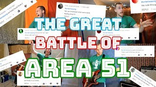 """The Great Battle of Area 51"" (Write Me A Song #5)"