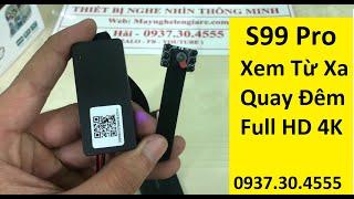 Camera Quay Lén S99-Pro Xem Trực Tiếp Từ Xa
