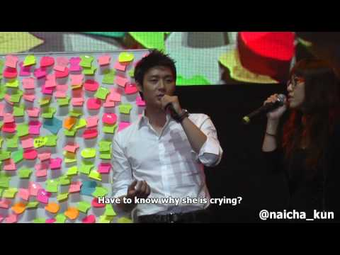[Eng sub]Yoochun 908 Shenzhen FM Part 8 - (funny) Why wearing slippers 10 months a year?
