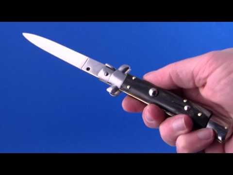 Springmesser Horngriff- www.pizzini.at