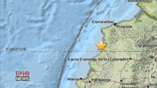 Powerful 7.8-magnitude earthquake strikes northwest Ecuador