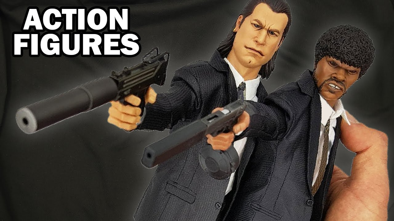 Review: Vincent Vega & Jules Winnfield from Pulp Fictuon movie - action figures - silent version