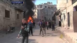 غارة جوية تستهدف أحد الأفران في مدينة إدلب