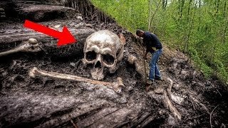 Most MYSTERIOUS Discoveries In The Forest!