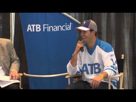 ATB Financial announces its latest draft pick: Oilers star winger Jordan Eberle.