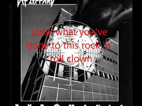 def leppard photograph lyrics youtube