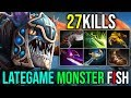 The Monster Fish Is Back [Slark] THIS HERO IS SO STRONG IN LATEGAME 27Kills 7.19 | Dota 2 FullGame