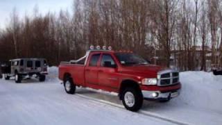 Hummer H1 VS Dodge Ram